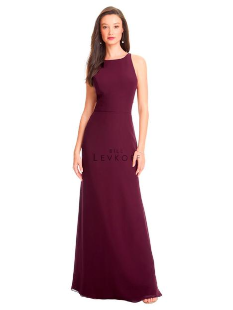 Style 1563 gown from the 2019 Bill Levkoff Bridesmaids collection, as seen on dressfinder.ca