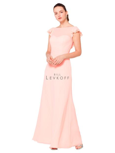 Style 1611 gown from the 2019 Bill Levkoff Bridesmaids collection, as seen on dressfinder.ca