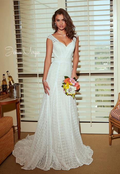 Bliss Wedding                                          dress by Jessica Morgan