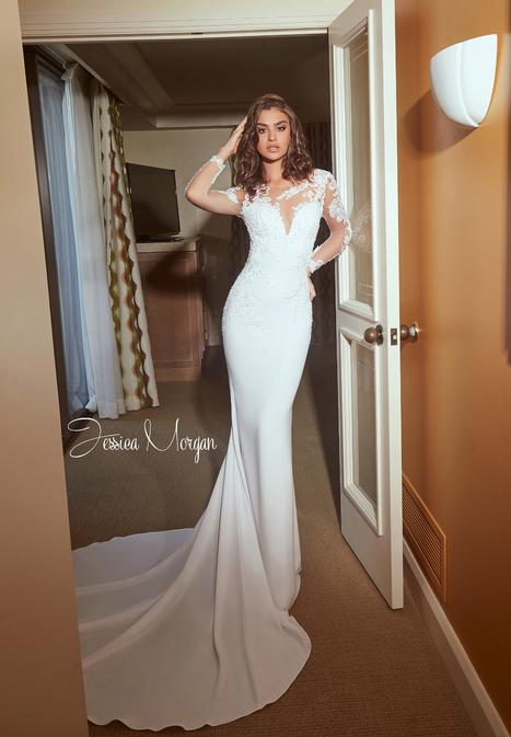 Fantasy Wedding                                          dress by Jessica Morgan