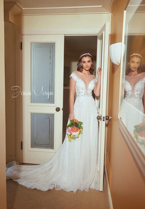 Shine Wedding                                          dress by Jessica Morgan