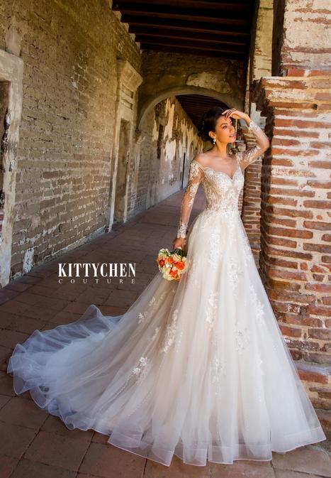 Cassandra Wedding                                          dress by KittyChen Couture