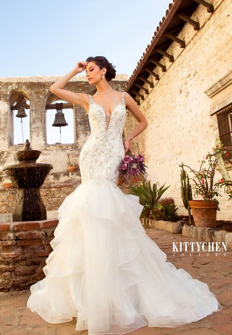 Denita Wedding                                          dress by KittyChen Couture