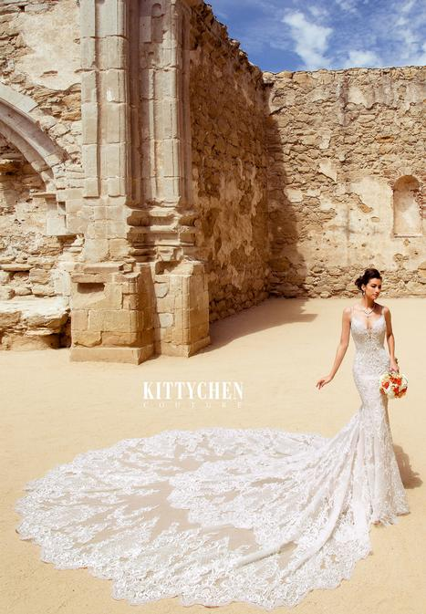 Felica Wedding                                          dress by KittyChen Couture