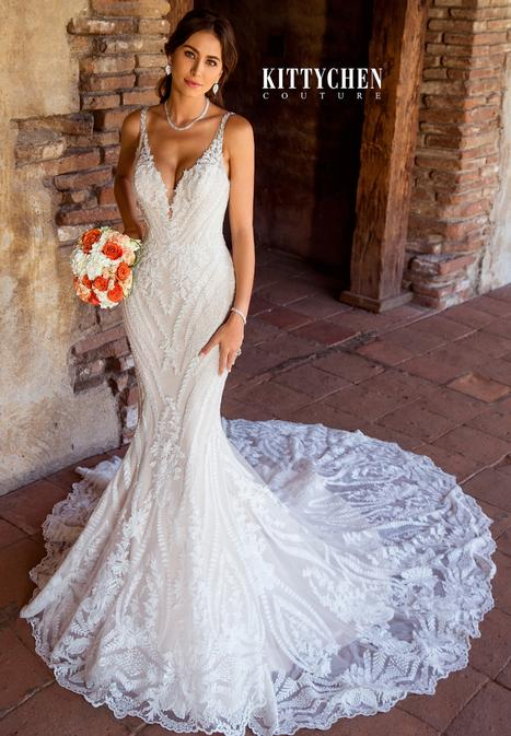 Sarah Wedding                                          dress by KittyChen Couture