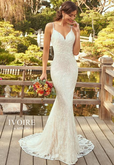 Anna Wedding                                          dress by Ivoire by Kitty Chen