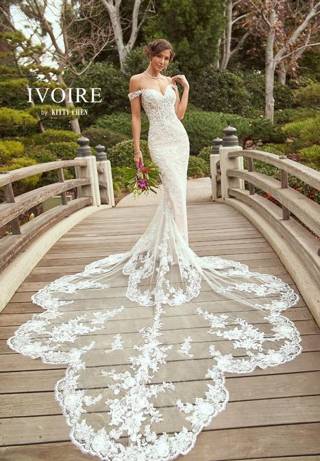 Lilliana Wedding                                          dress by Ivoire by Kitty Chen