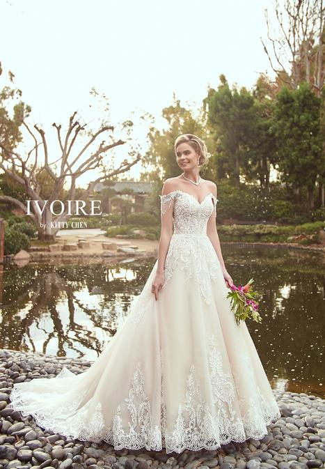 Mandy Wedding                                          dress by Ivoire by Kitty Chen