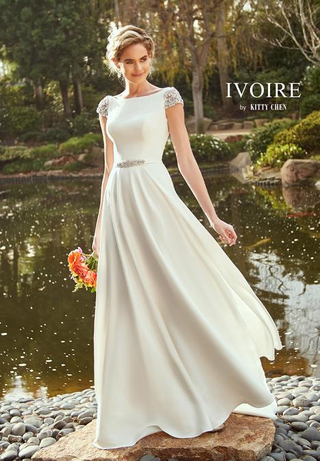 Peyton Wedding                                          dress by Ivoire by Kitty Chen
