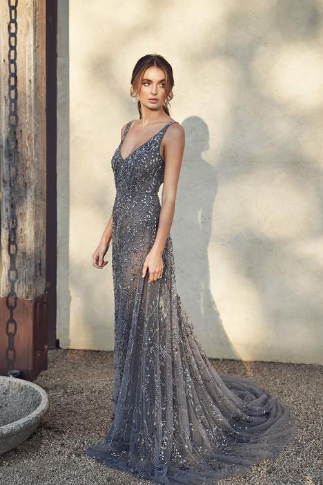 Indigo Midnight Empress Wedding                                          dress by Anna Campbell