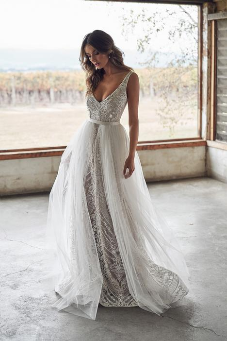 Lexi Empress (with Zoe Overskirt) Wedding                                          dress by Anna Campbell