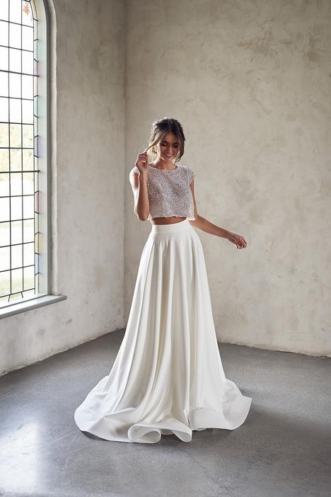 Meadow Topper Wedding                                          dress by Anna Campbell