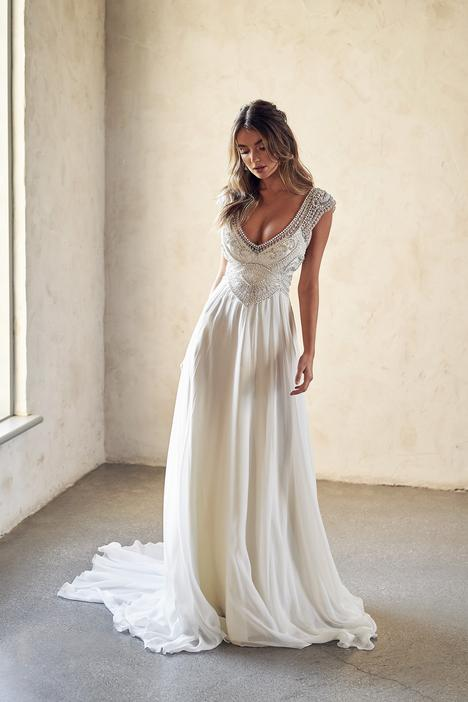 Sorrento Summer Wedding                                          dress by Anna Campbell