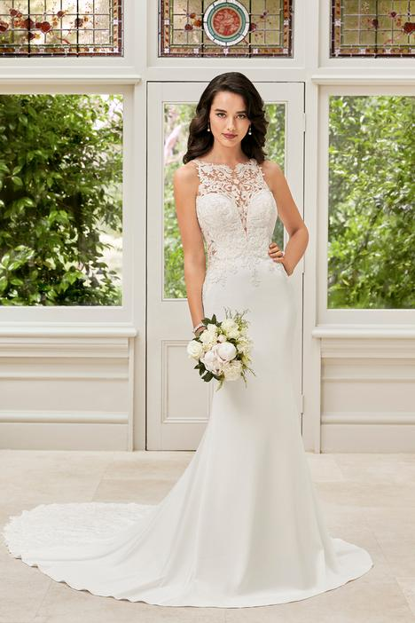 Hollie Wedding                                          dress by Sophia Tolli