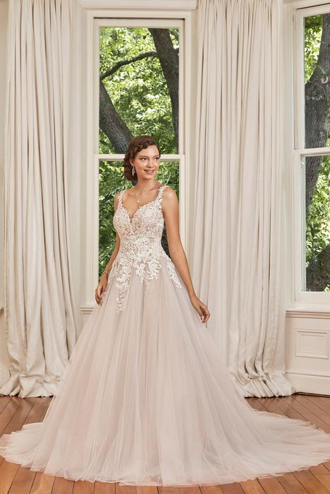 Stephanie Wedding                                          dress by Sophia Tolli