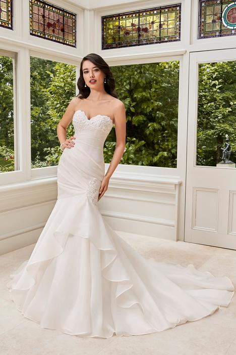 Janelle Wedding                                          dress by Sophia Tolli