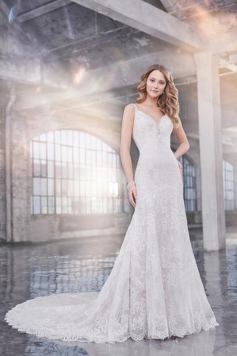Wedding                                          dress by Martin Thornburg for Mon Cheri