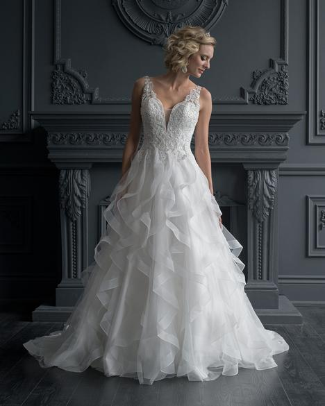 Style 8603 gown from the 2020 Romantic Bridals collection, as seen on dressfinder.ca