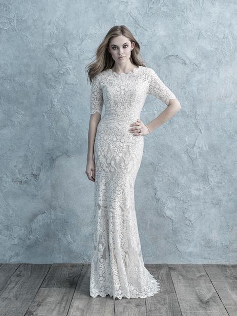 Wedding                                          dress by Allure Modest