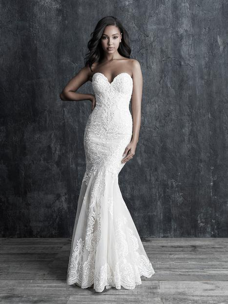 Wedding                                          dress by Allure Couture