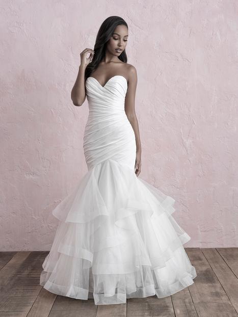 Wedding                                          dress by Allure Romance
