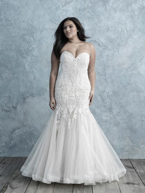 Style W451 gown from the 2019 Allure Women collection, as seen on dressfinder.ca