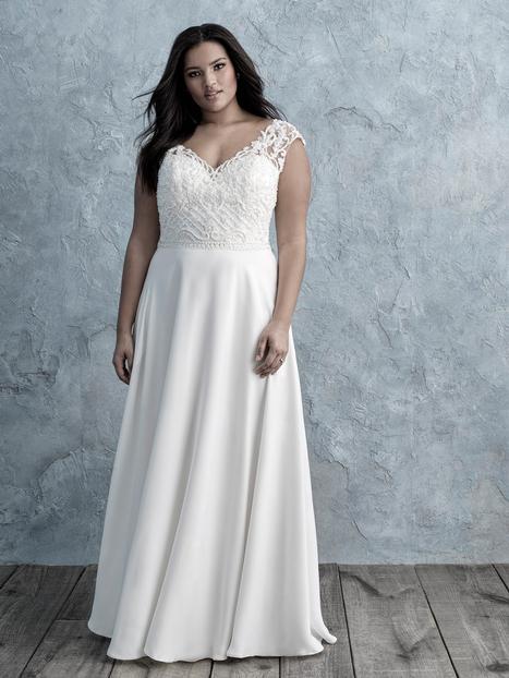 Wedding                                          dress by Allure Women