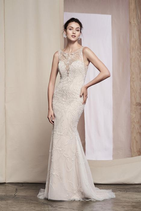 Dahlia Wedding                                          dress by Justin Alexander Signature