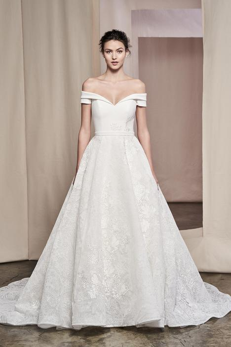 Zinnia Wedding                                          dress by Justin Alexander Signature