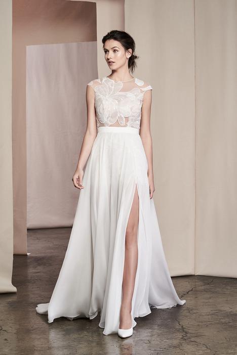 Linnea Wedding                                          dress by Justin Alexander Signature