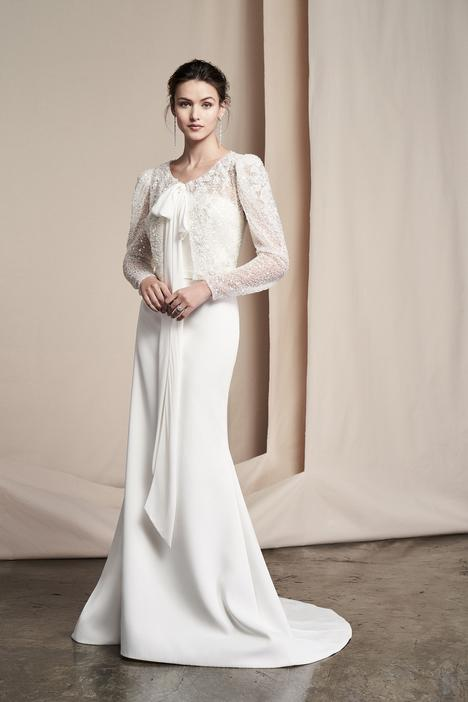 Rue Jacket Wedding                                          dress by Justin Alexander Signature