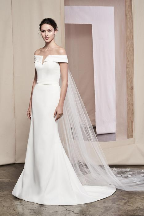 Laurel Wedding                                          dress by Justin Alexander Signature