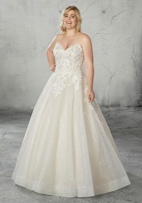 Style 2087W gown from the 2019 Morilee Bridal collection, as seen on dressfinder.ca