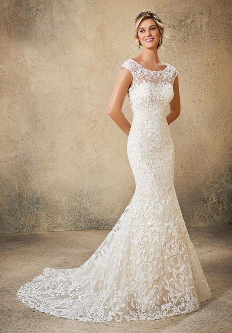 Style 5762 gown from the 2019 Morilee Blu collection, as seen on dressfinder.ca