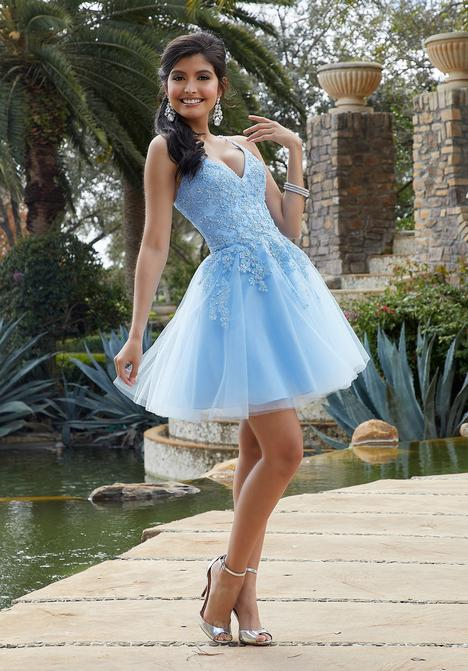 Prom                                             dress by Morilee Damas
