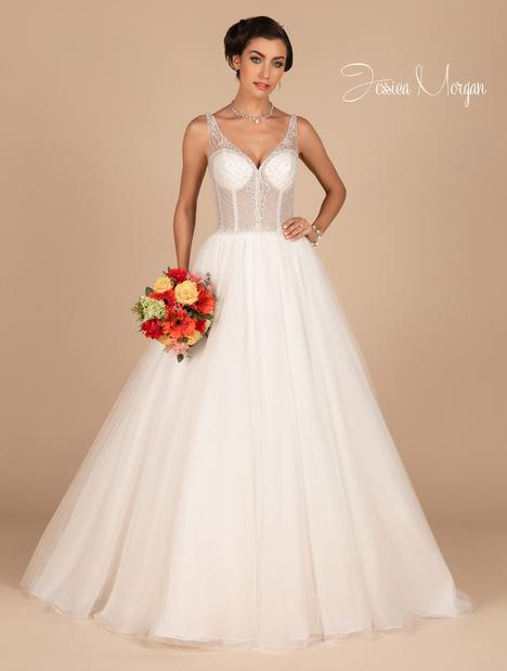 Halo Wedding                                          dress by Jessica Morgan