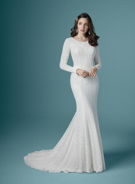 Geraldine-Leigh Wedding                                          dress by Maggie Sottero