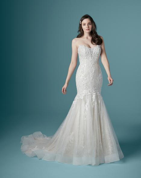 Lonnie-Lynette Wedding                                          dress by Maggie Sottero