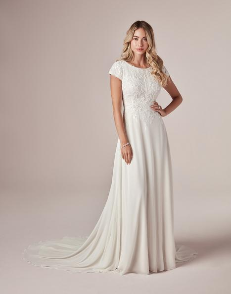 Mercy-Leigh Wedding                                          dress by Rebecca Ingram