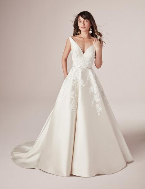 Valerie Wedding                                          dress by Rebecca Ingram