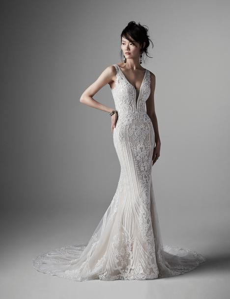 Delaney Wedding                                          dress by Sottero and Midgley