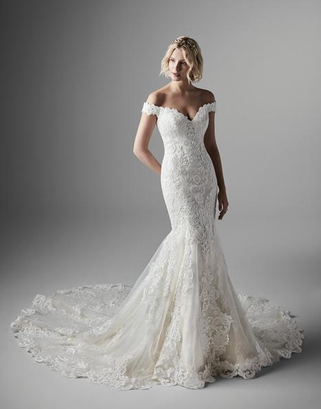Kennedy Wedding                                          dress by Sottero and Midgley