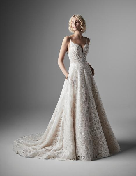 Roxanne Wedding                                          dress by Sottero and Midgley