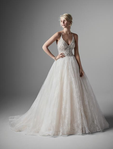 Thaddeus Wedding                                          dress by Sottero and Midgley
