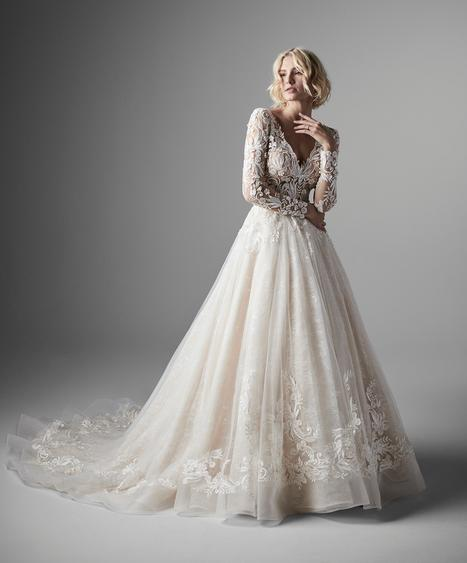 Zander Wedding                                          dress by Sottero and Midgley