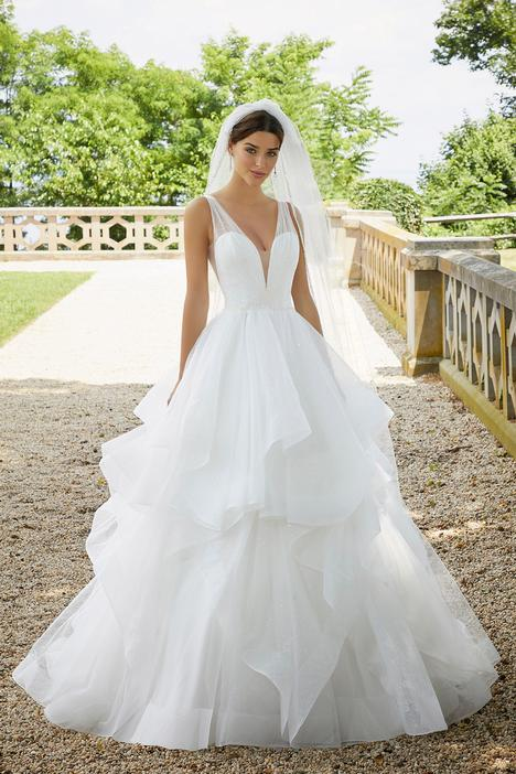 Style 5818 gown from the 2020 Morilee Blu collection, as seen on dressfinder.ca