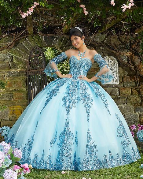 Prom                                             dress by Morilee Vizcaya
