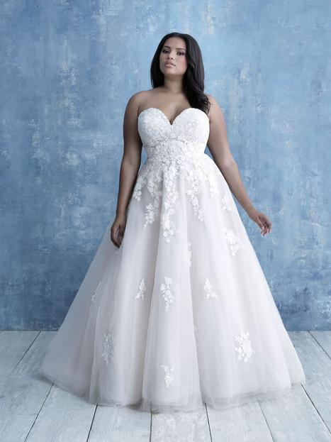 Style W461 gown from the 2020 Allure Women collection, as seen on dressfinder.ca