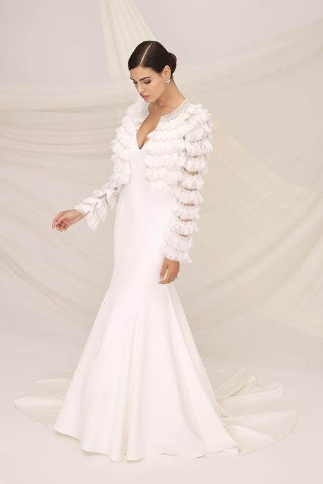 Palermo Wedding                                          dress by Justin Alexander Signature