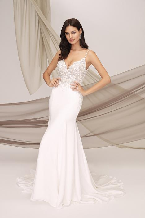 Toulon Wedding                                          dress by Justin Alexander Signature